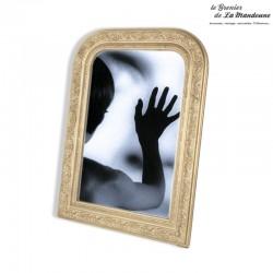 Le Grenier de la Mandoune.Miroir ancien de style Louis Philippe 74,5 cm x 53,8cm. French Antique