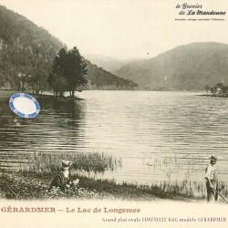 Legrenier de la mandoune. Grand plat ovale LUNÉVILLE K&G modèle GÉRARDMER. French Antique