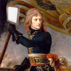 Ancien Miroir style Louis-Philippe 58 x 42,5 cm. French Antique
