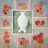 Boîte Bonbonnière en Opaline Blanche en forme d'Ananas