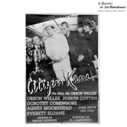 Affiche Citizen Kane (1946). Affiche réédité par Archeo Pictures (1990)
