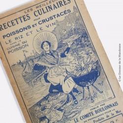 Les meilleures recettes culinaires pour poissons et crustacés. 1935