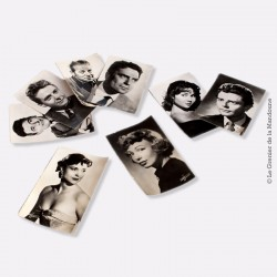 Lot de 8 Cartes Postales acteurs français.  Studio Harcourt