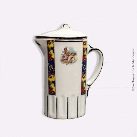 Ancienne verseuse cafetière pot à lait