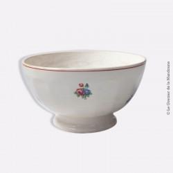 Old Bowl. Ancien gros bol faïence Saint-Amand-les-Eaux MDL Hamage. French antique