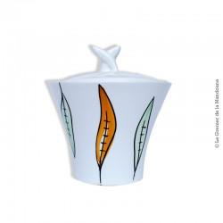Sucrier Sarreguemines France, modèle DANIEL 125