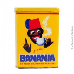 Boîte en métal Banania «y'a bon BANANIA»