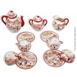 Service à thé Japonais ancien en porcelaine fine