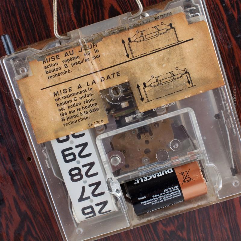 Horloge Pendule Jaz Transistor Vintage Formica Lic Ato France on 18 Er Dimensions