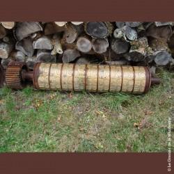 Rouleau Biscuits industriel Poult en bronze 001