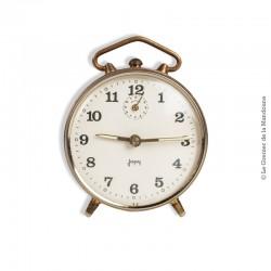 Le Grenier de la Mandoune. Ancien réveil Japy, mécanique, déco vintage année 50, french antique clock