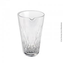 Le Grenier de la Mandoune. Verre à mélange en cristal, permettant de réaliser tous les cocktails nécessitant son utilisation. Vi