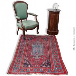 Le Grenier de la Mandoune. Très beau tapis Heriz Kurdistan en laine ancien