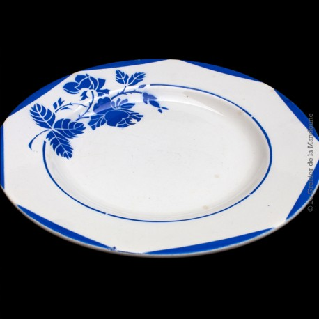 Assiette collection Montauban Digoin Sarreguemines France 57