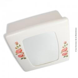 Le Grenier de la Mandoune. Armoire de toilette en plastique avec miroir de marque  SYLA. Vintage 70'