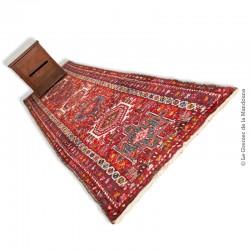 Beau tapis Heriz Malayer Corridor ancien, fait main 275 x 74 cm