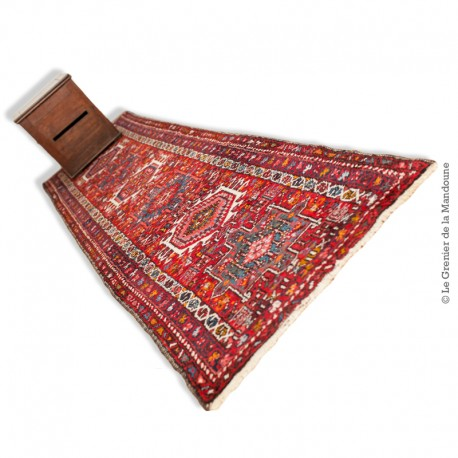 Le Grenier de la Mandoune. Beau tapis Heriz Malayer Corridor ancien, fait main 275 x 74 cm