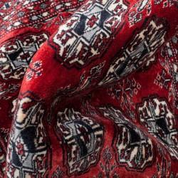 Le Grenier de la Mandoune. Très beau tapis BOUKHARA ancien Russo Turkmene 96 x 60 cm