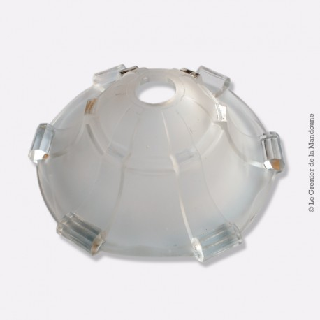 Ancien Abat jour pâte de verre style art déco