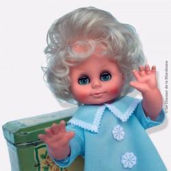 Ancienne poupée vintage doll ARI n° 3236 yeux dormeurs