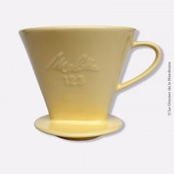 Vintage filtre à café Melitta 123 en grés
