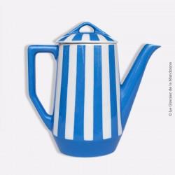 Cafetière verseuse avec couvercle Art-Déco1930 FOX-TROTT Sarreguemines