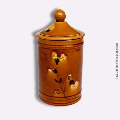 Pot avec couvercle ancien. Longchamp France