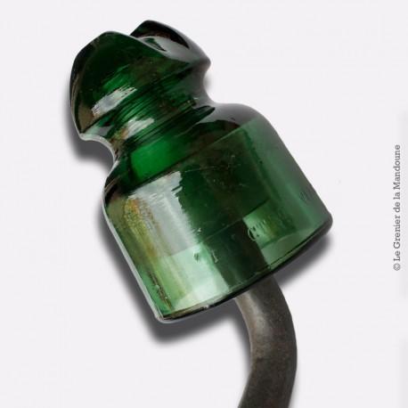 Patère isolateur Verre Fonte Loft. L' ELECTRO VERRE 24