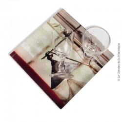 Le Grenier de la Mandoune. 2 petits verres 19ème ou début 20ème siècle, soufflé / moulé