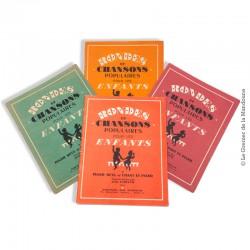 4 Volumes de Rondes et Chansons Populaires pour les Enfants, Piano seul et chant / Piano. 1940 - 1950
