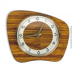 Le Grenier de la Mandoune. Horloge pendule ★  Rivolia ★ 7 Rubis ★  Vintage formica
