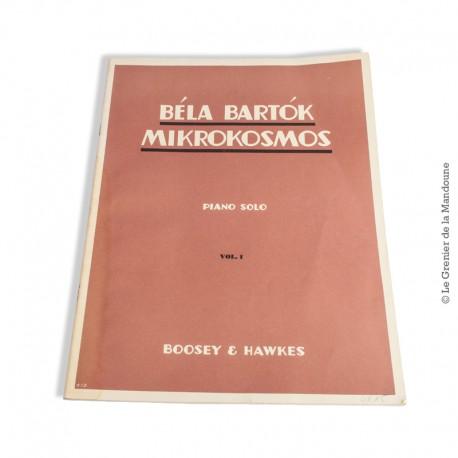 Le Grenier de la Mandoune. Bela Bartok Mikrokosmos Piano Solo Volume 1. Winthrop Rogers Edition – 1940