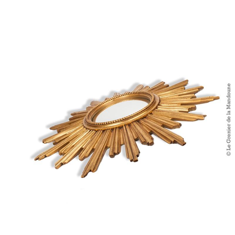 Miroir soleil dor oeil de sorci re convexe ann es 60 70 for Miroir soleil oeil sorciere