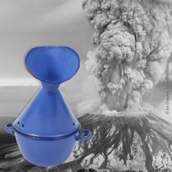 Inhalateur émaillé bleu grand format VINTAGE
