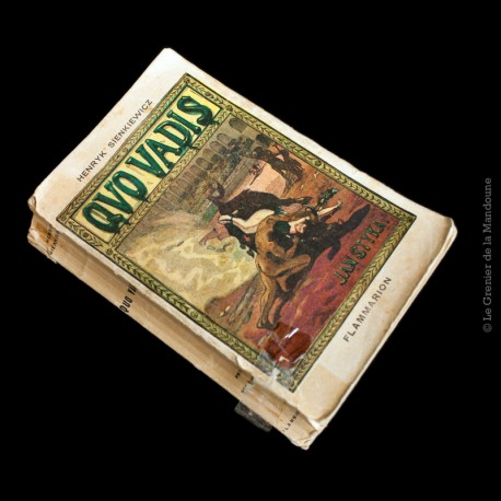 Quo Vadis Roman des temps Néroniens Henryk Sienkiewicz. Illustré par Jan Styka 1948