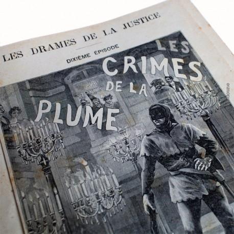 Les crimes de la plume par Raoul de Navery