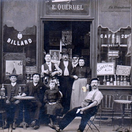 Le Grenier de la Mandoune. Cendrier MARTINI Faïencerie de Badonviller. French vintage